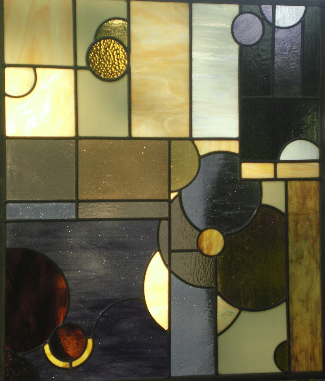 Essence of a Waterfall by Julie Gill of Big Glass Art