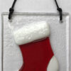 Fused Christmas Ornaments - Stocking
